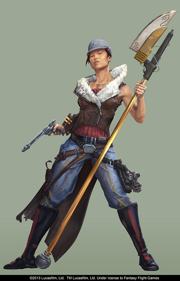 ArtStation - Star Wars RPG - Pirate Captain, Andrew Johanson
