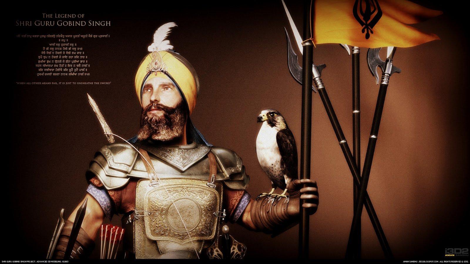 Aman Sandhu Guru Gobind Singh Ji