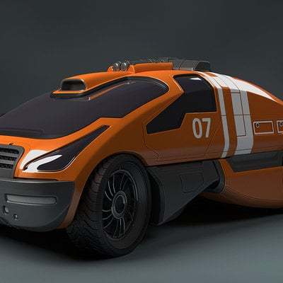 Mark van haitsma concept car front