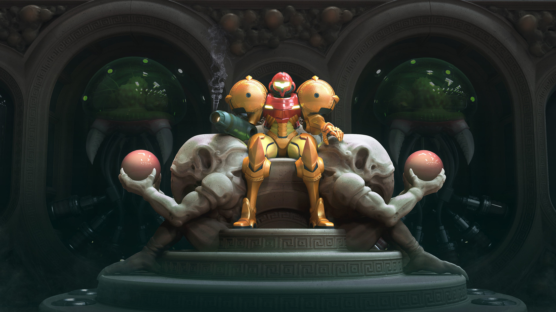 Metroid Fan Art Mark Van Haitsma Samus Final 6