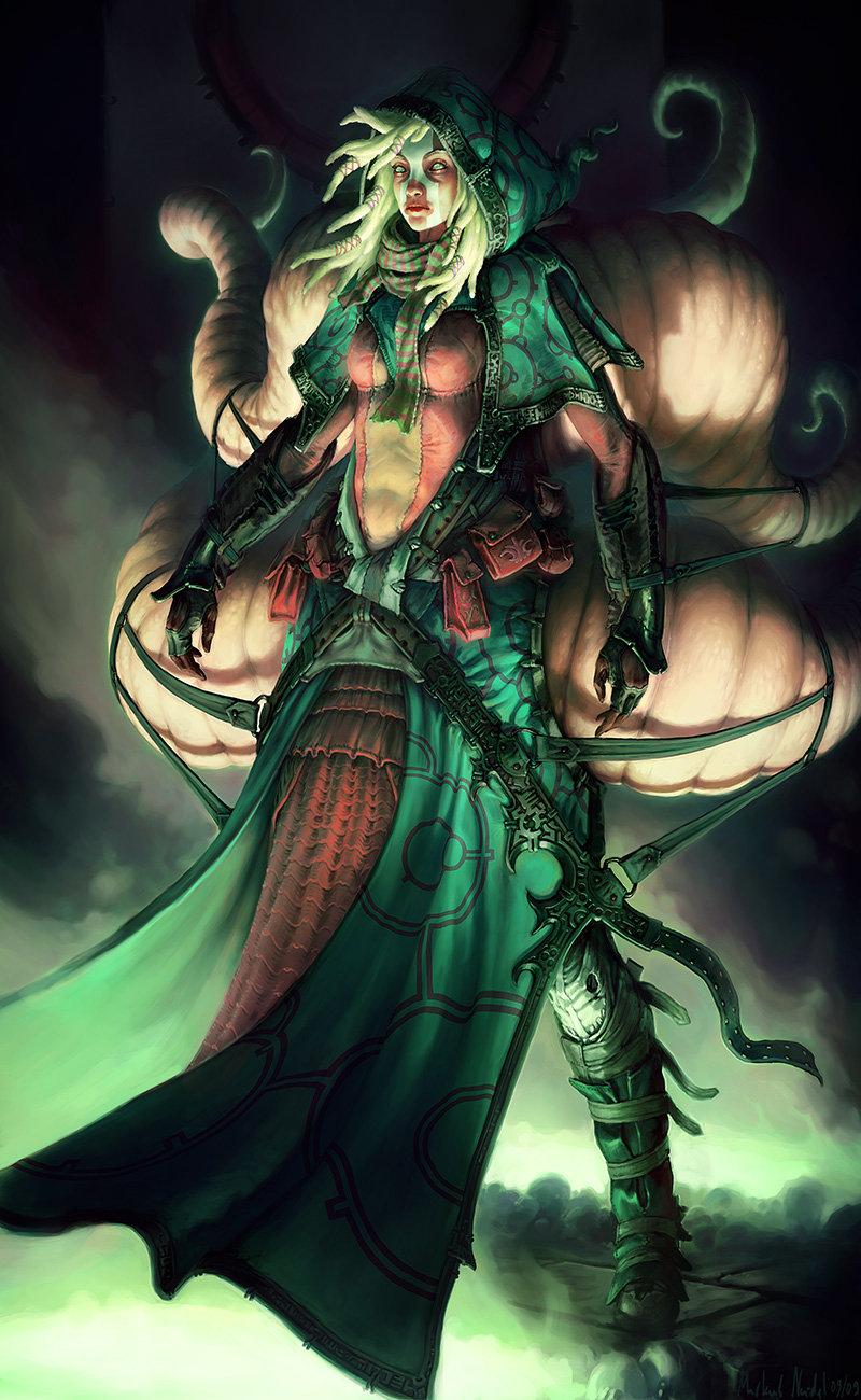 Worm Lady