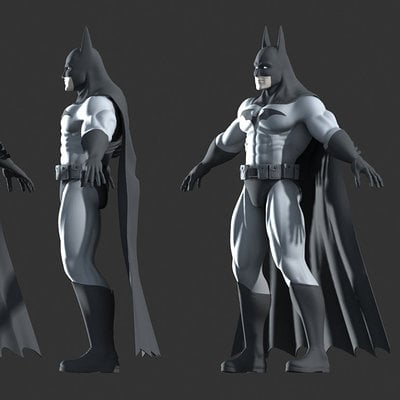 Mark van haitsma batman model final views