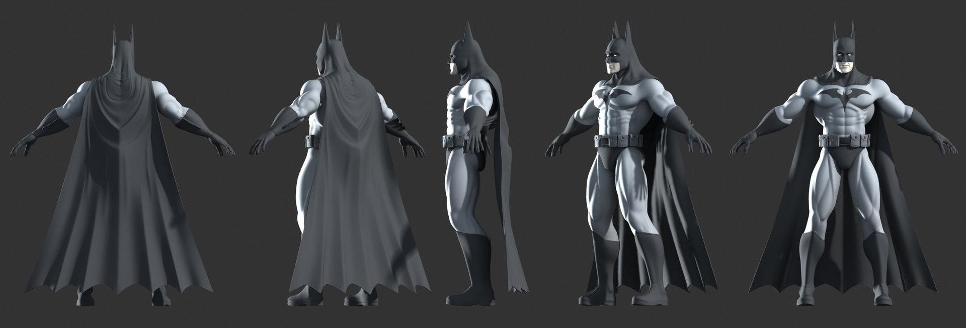 Mark van haitsma batman model final views