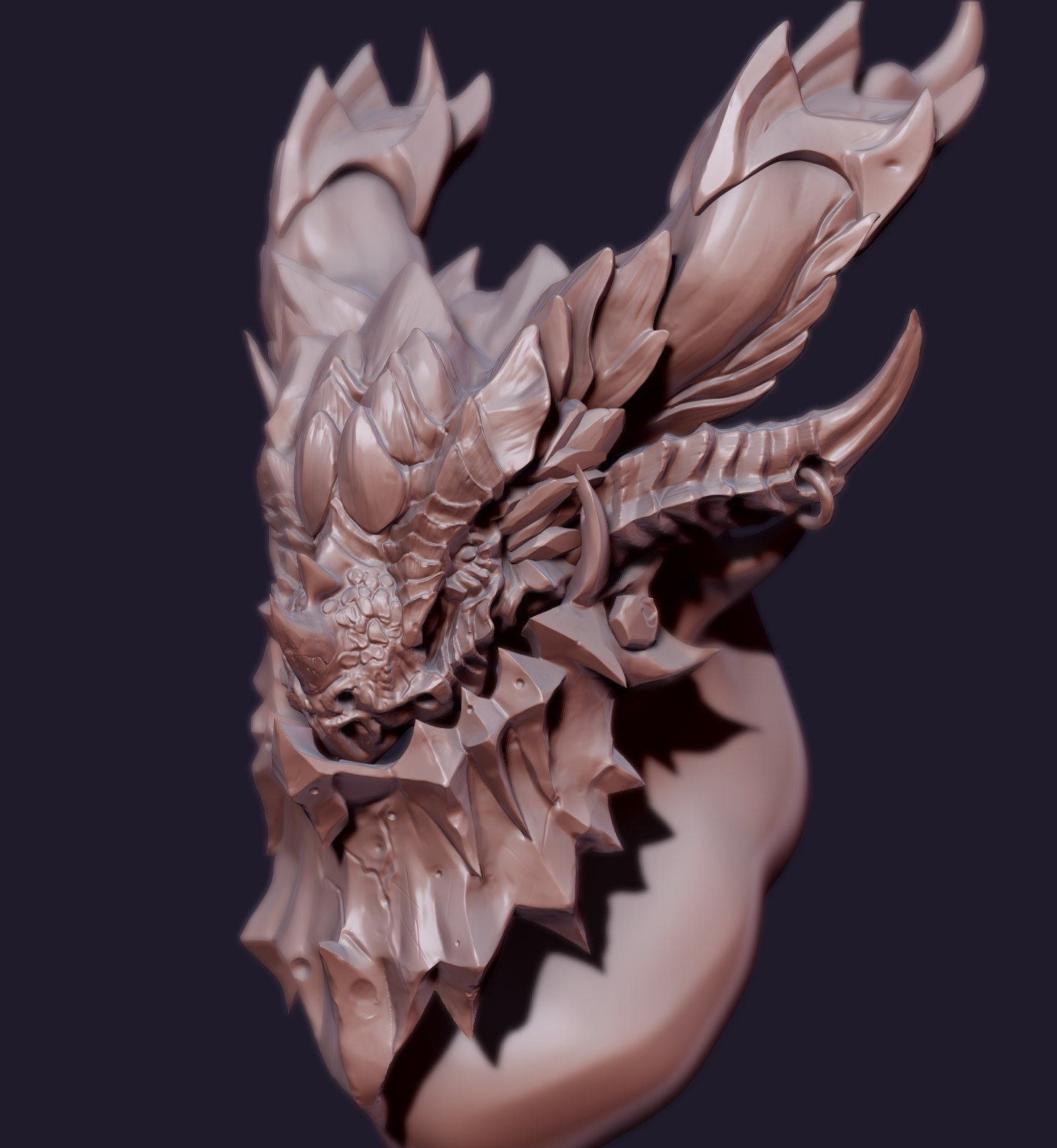 Deathwing bust