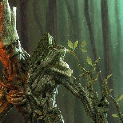 Pascal ackermann treeman final1 2 2000 cgtalk