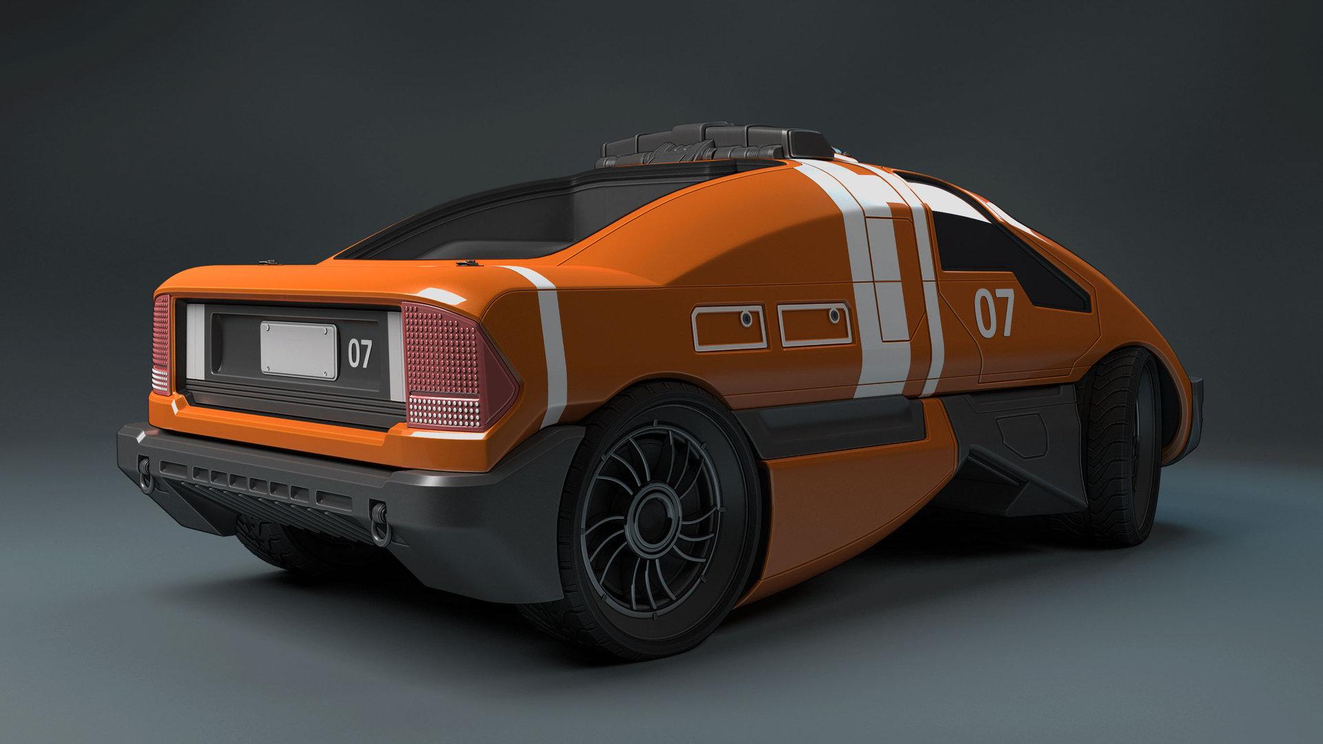 Mark van haitsma concept car back