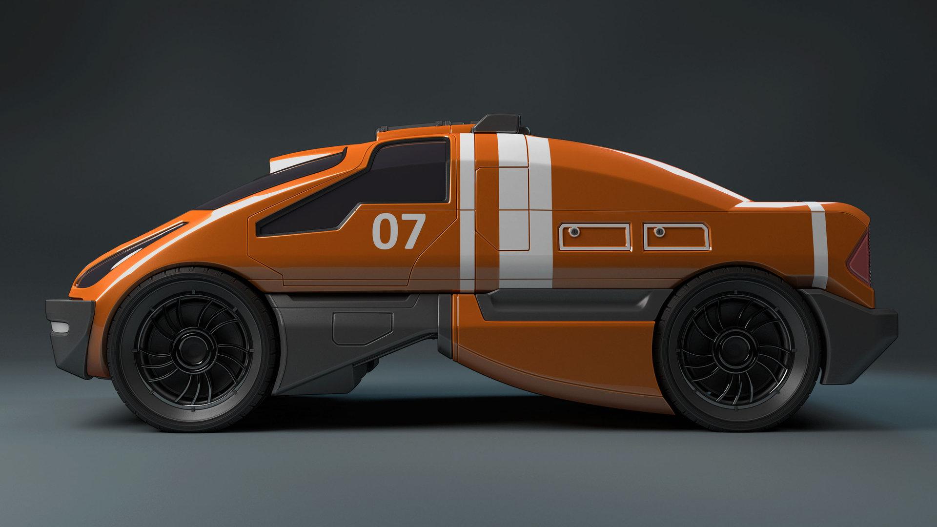 Mark van haitsma concept car side