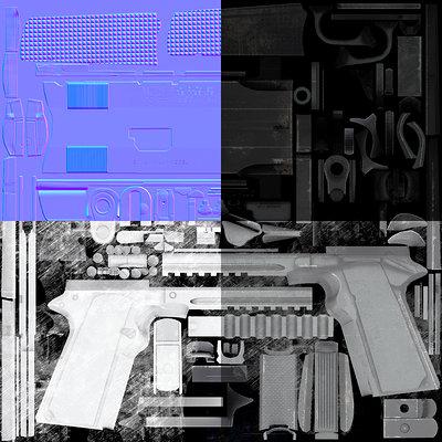 Frank pusateri layout gun texture