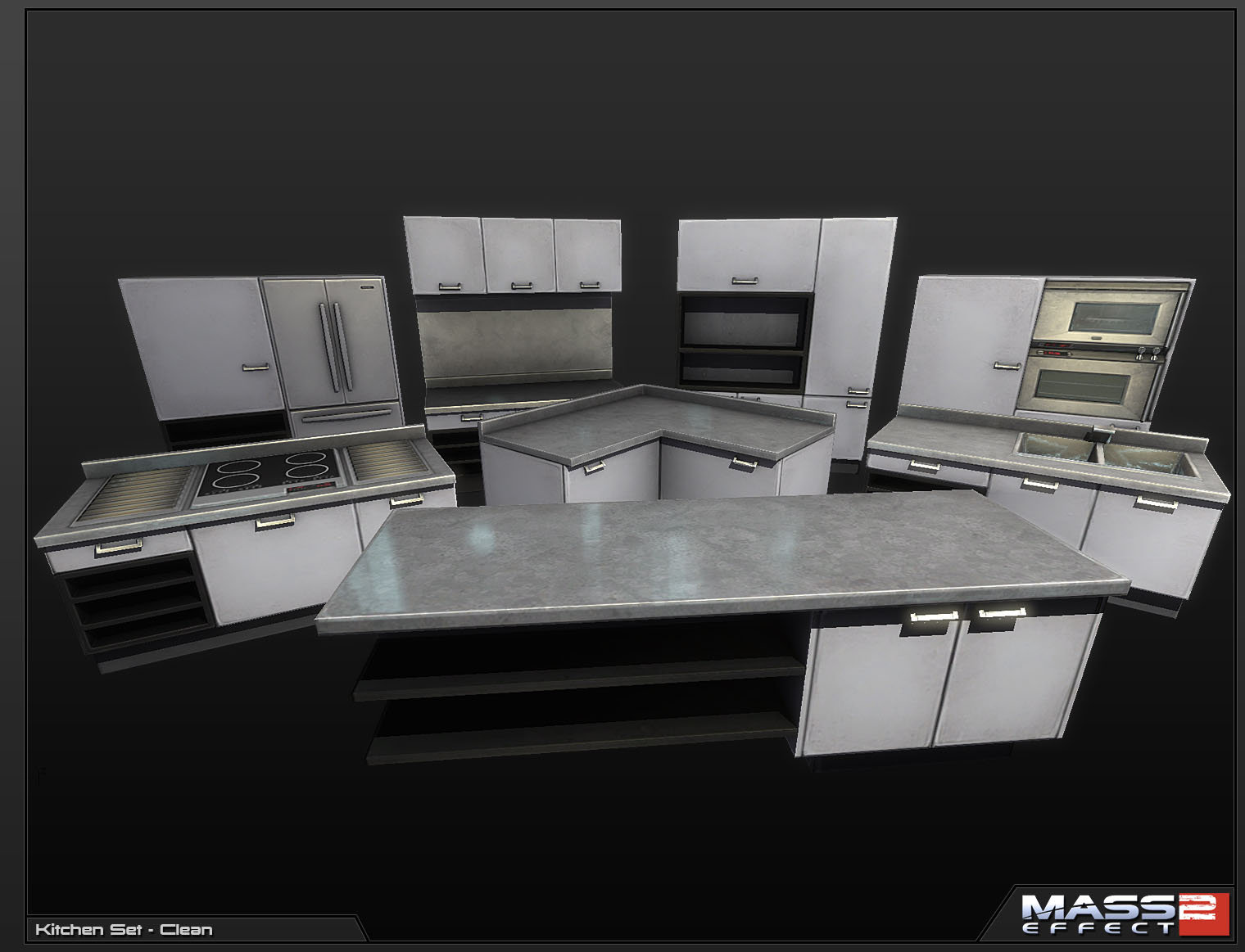 Mark van haitsma kitchen set clean