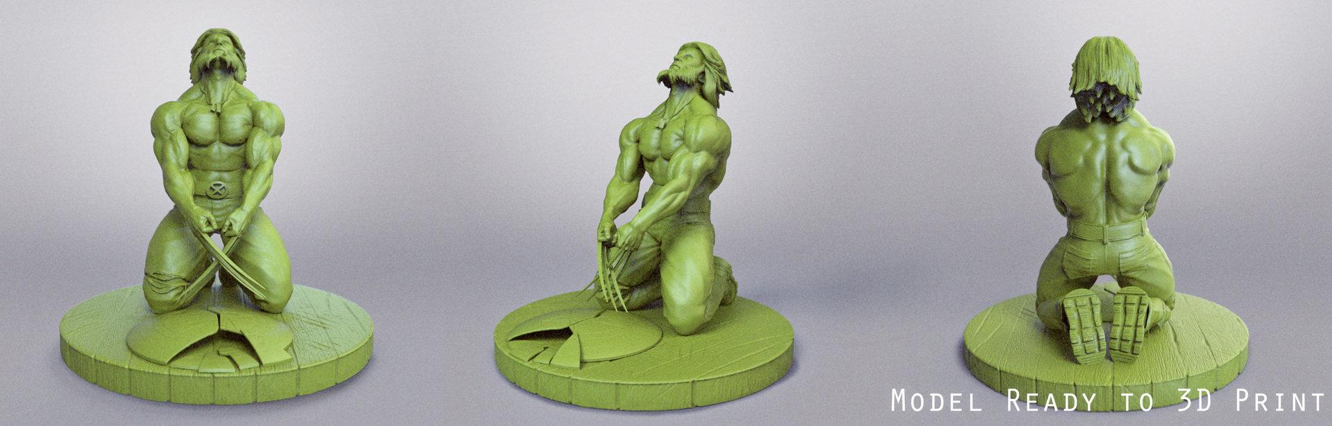 Wolverine Figurine