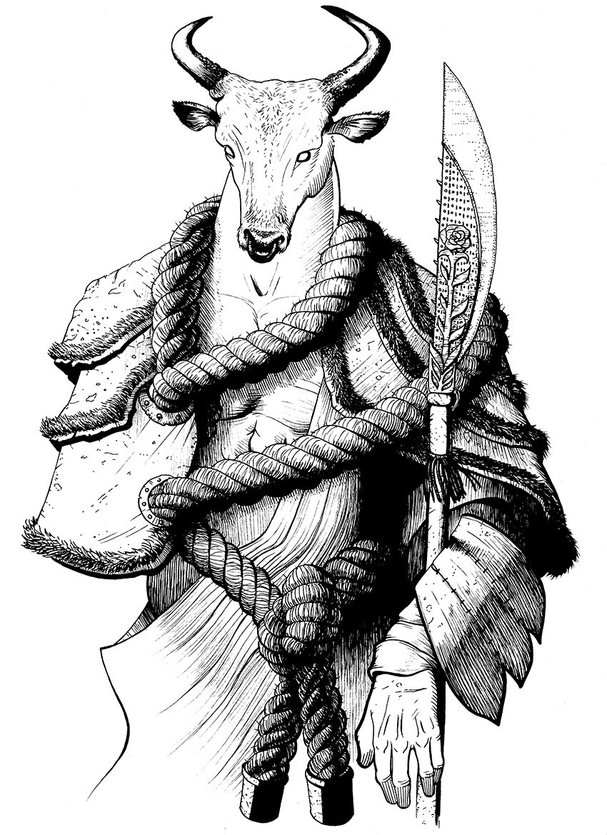 Levi gilbert minotaur