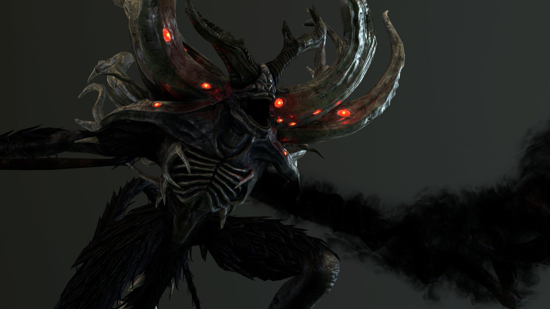 Artstation Manus Father Of The Abyss Dark Souls Fan Art