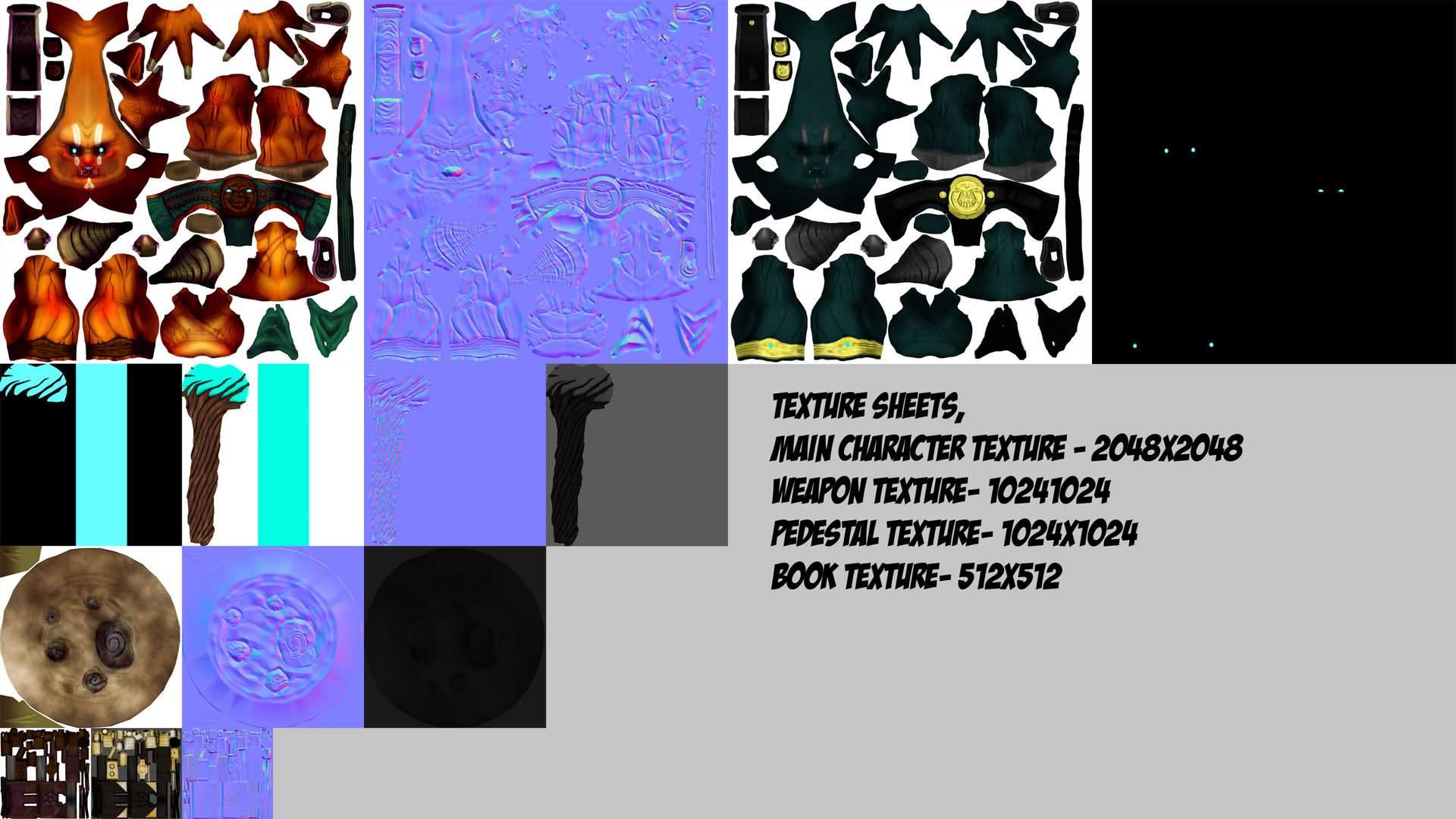 Giles ruscoe texturesheet 1