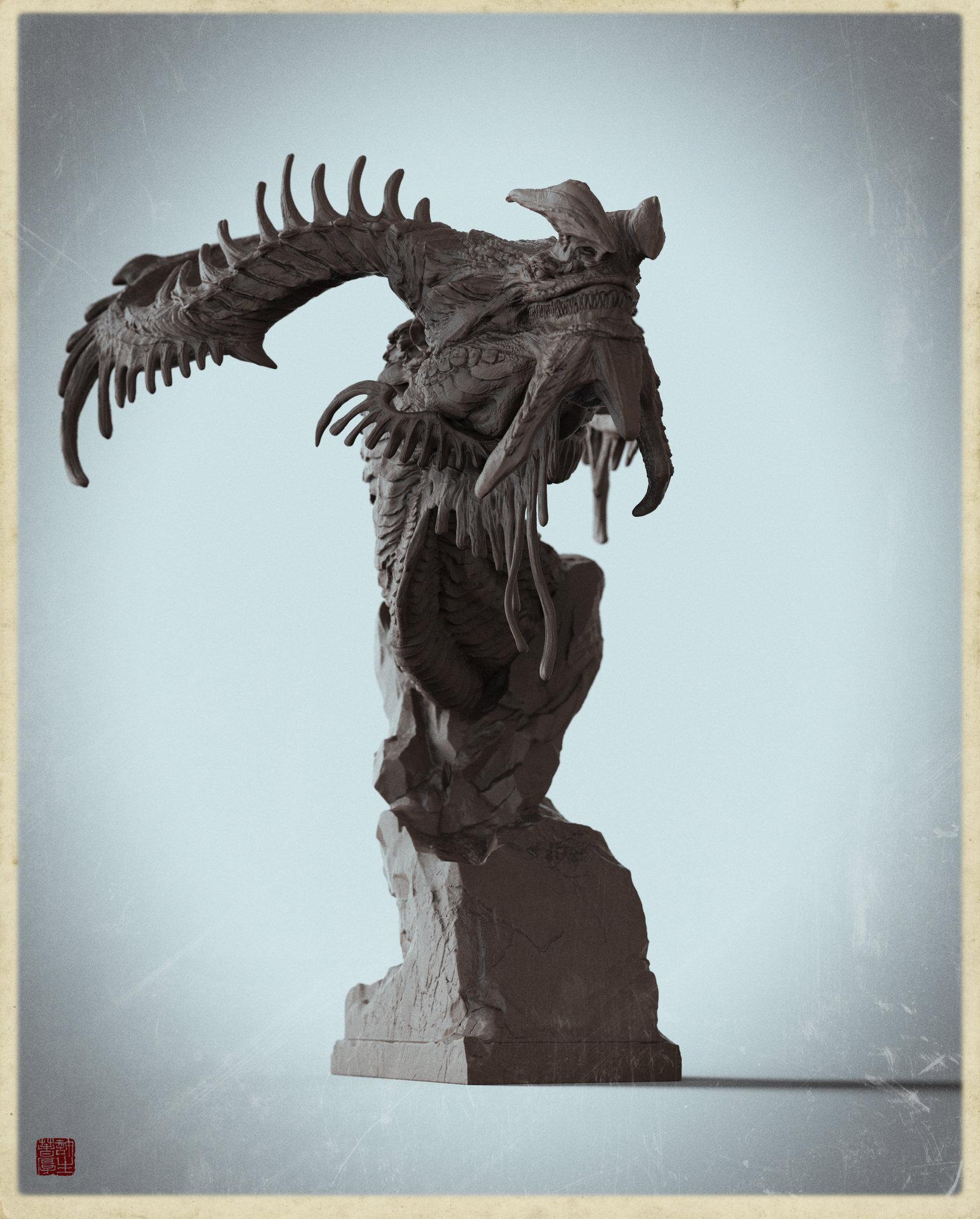 Zhelong xu u dragon clayvesion 2