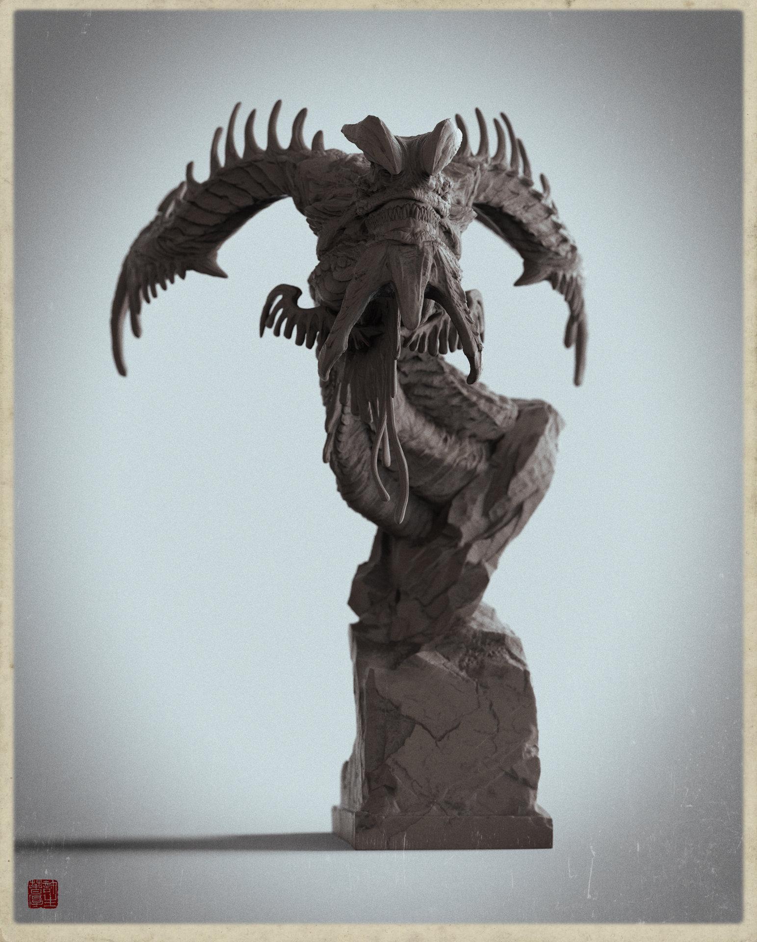 Zhelong xu u dragon clayvesion 3