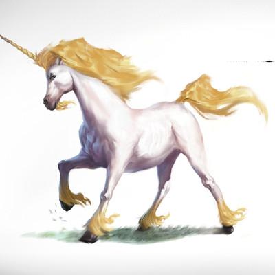 Vulcan design forge tomafeizogas unicorn dndmonstermanual illustration sml