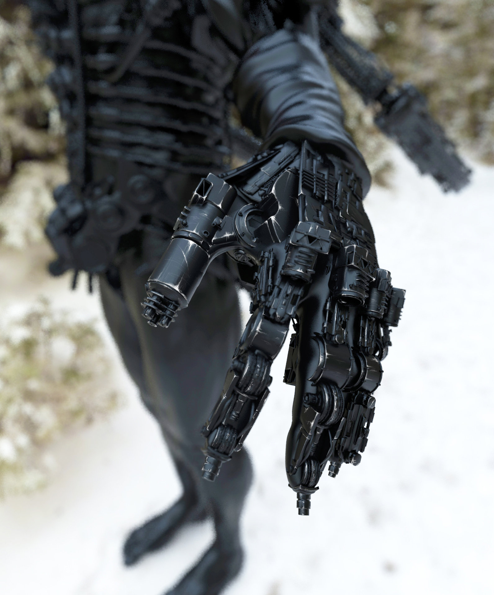 Mech Hand by Ulf3Dnar on DeviantArt