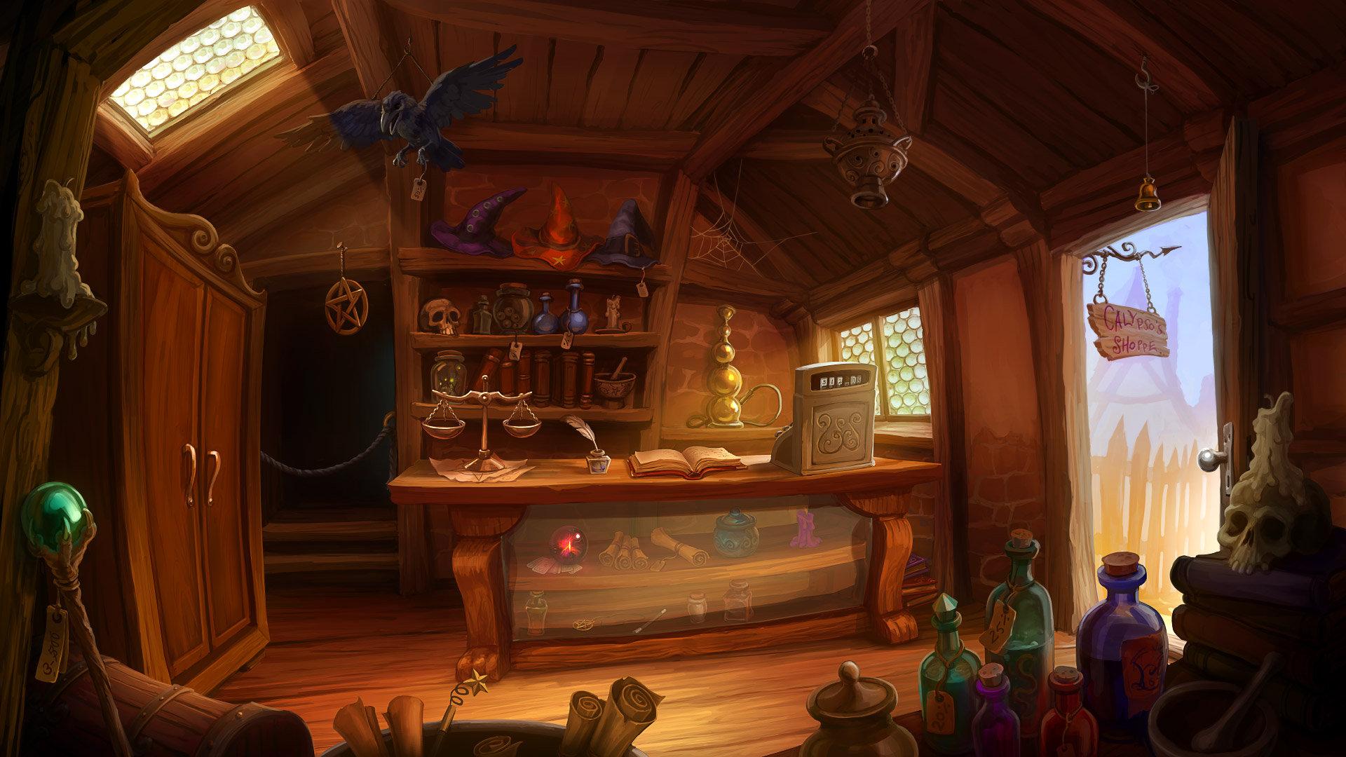 Magic Shop, Wiebke Scholz
