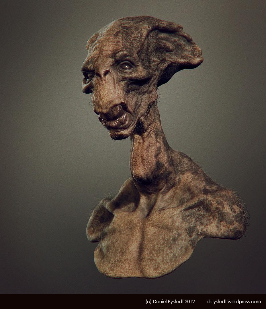 Daniel bystedt alien long face render 1