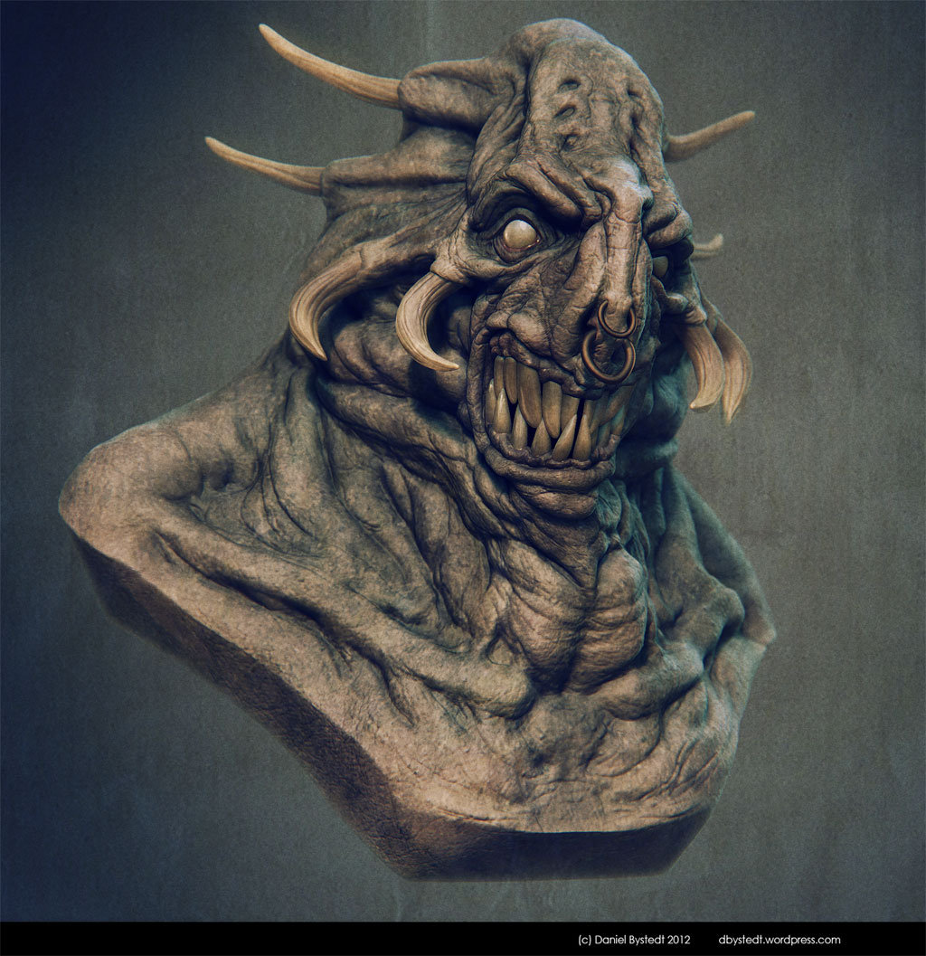 Daniel bystedt monsterbust lowres