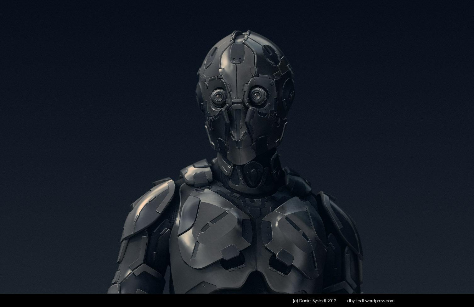 Daniel bystedt robot for zbrush4r5 beta testing 2