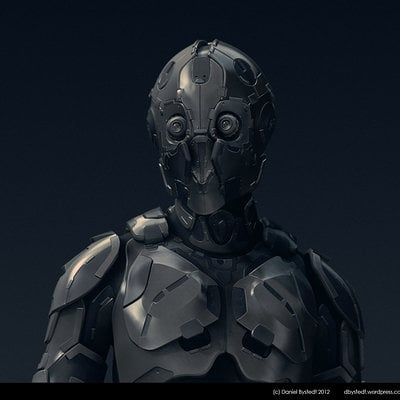 Daniel bystedt robot for zbrush4r5 beta testing 2