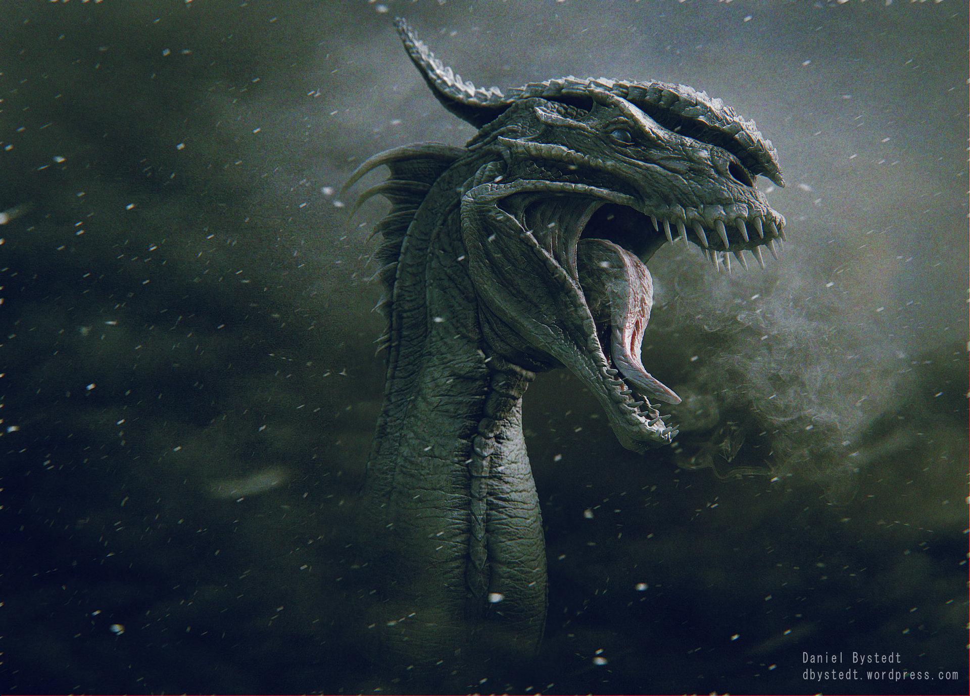 Daniel bystedt dragon render front