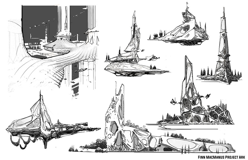 Finnian macmanus sky city sketches