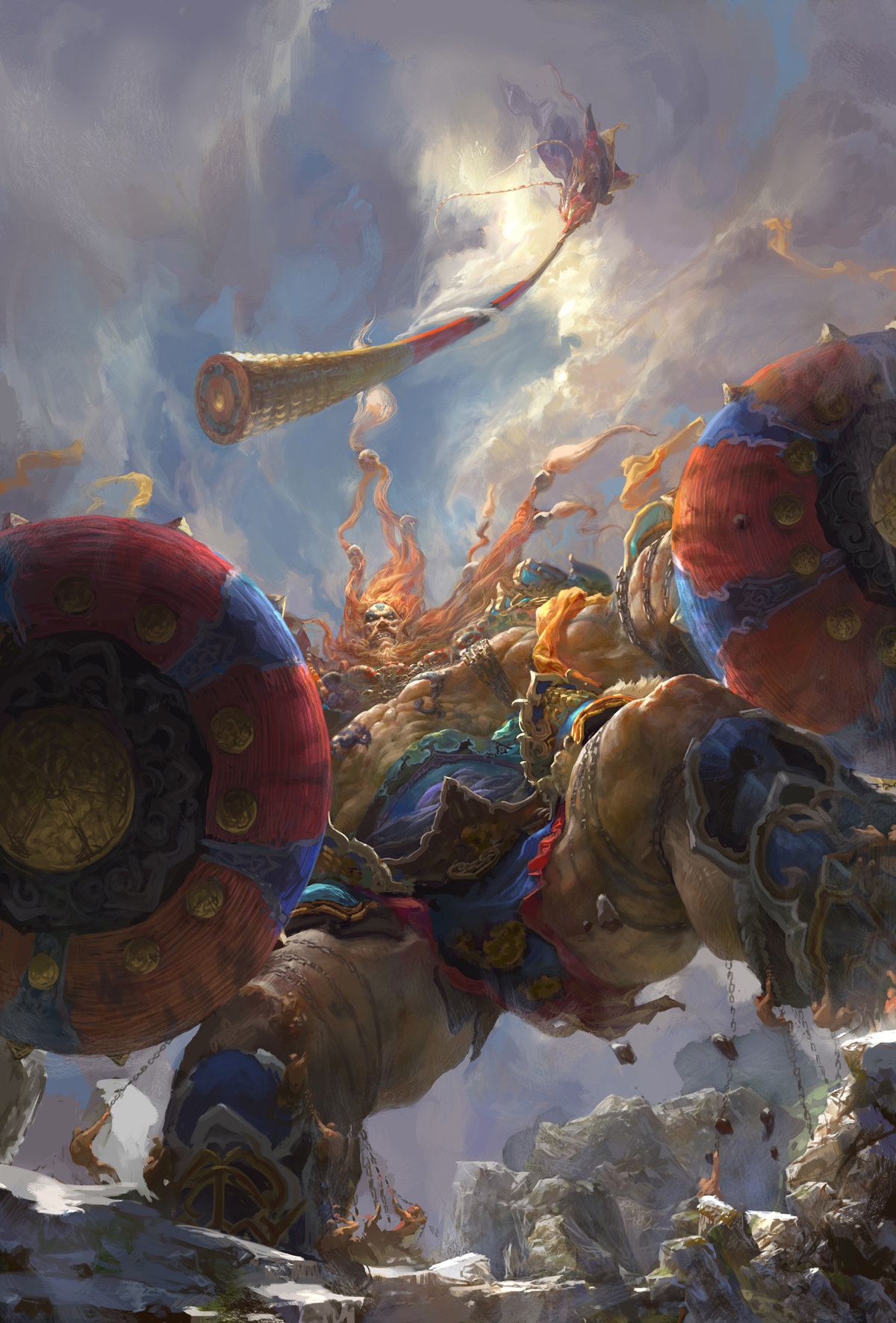 Fenghua zhong monkey king julin god war