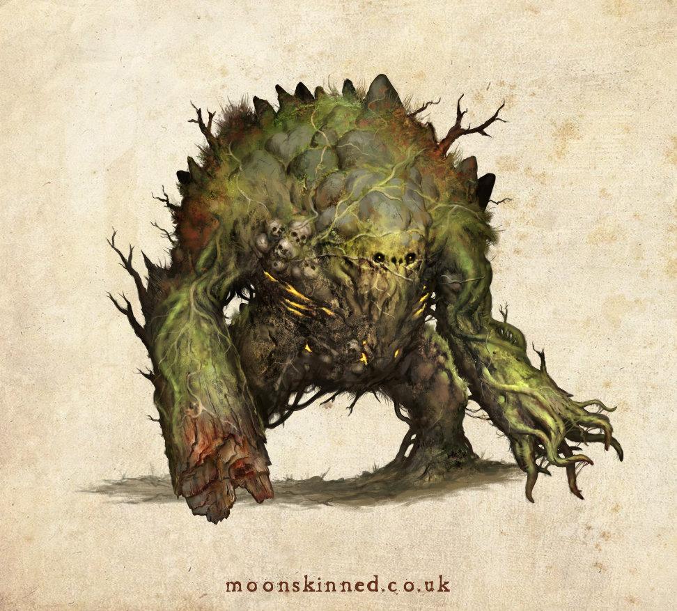 Sam lamont bog beast