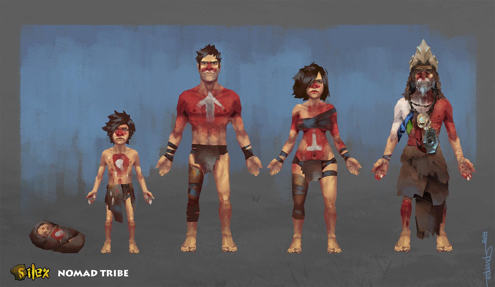 Edu alonso 0 newsilex characters tribe1