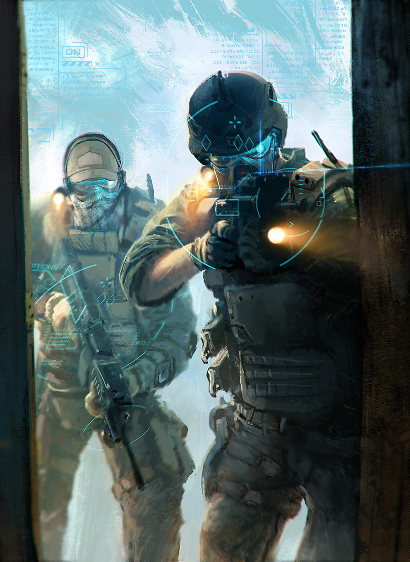 ArtStation - Ghost Recon Future Soldier, loïc [Liok] bramoullé