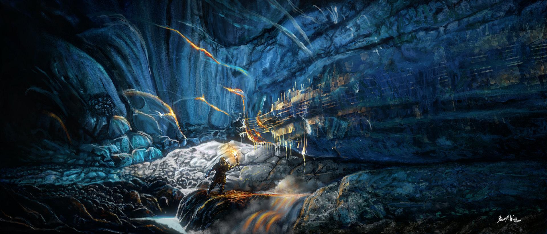 Joseph wraith icecave med