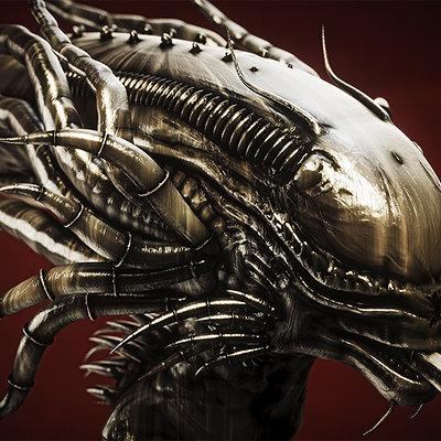 Christoph schindelar alien head