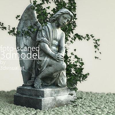 Christoph schindelar angel statue 1