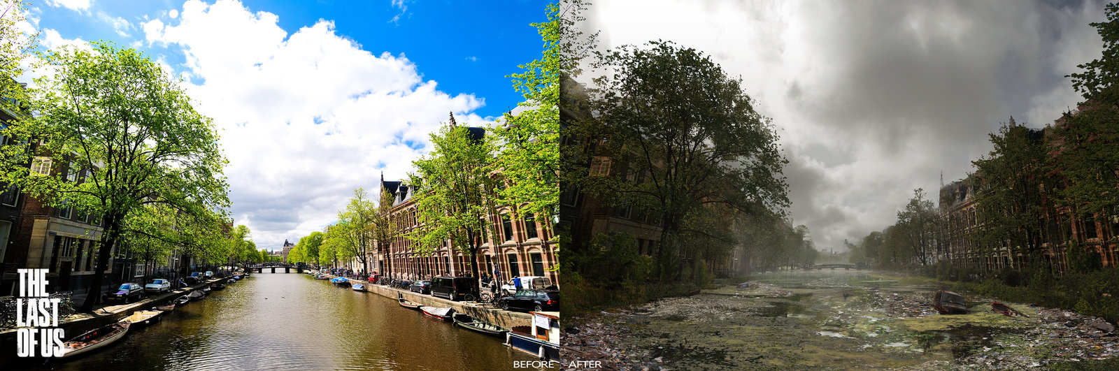 The Last of Us - Amsterdam, Canals