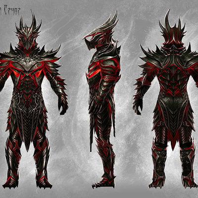 Ray lederer daedric armor dsktp