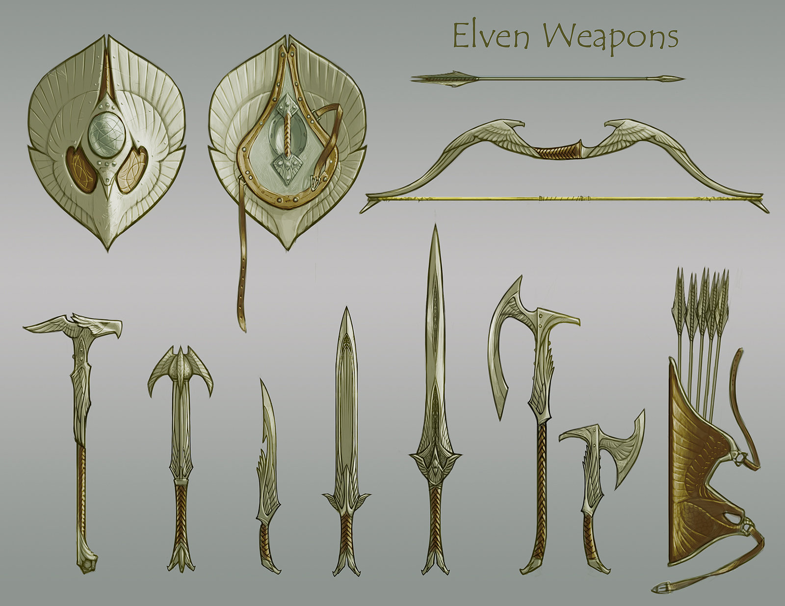 Ray lederer elven weapons dsktp