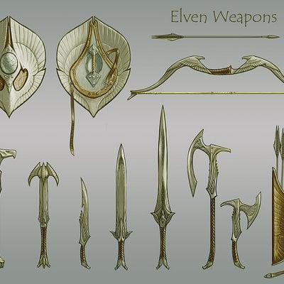 Ray lederer elven weapons dsktp