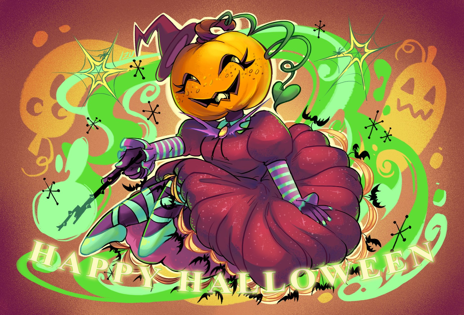 Louise leung pumpkin witchtest copy