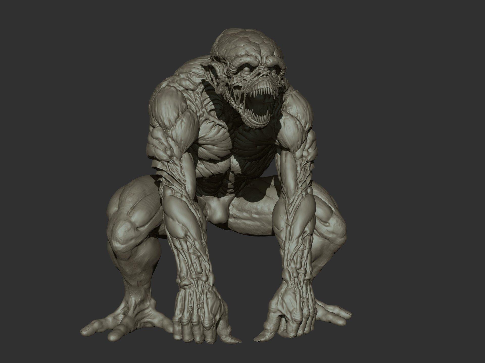 Ganesh poojari monster 001