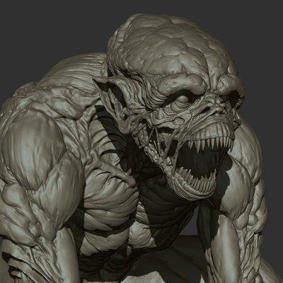 Ganesh poojari monster 003