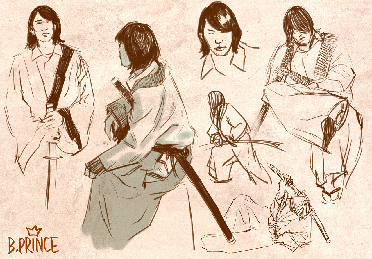 Life Drawing: Samurai