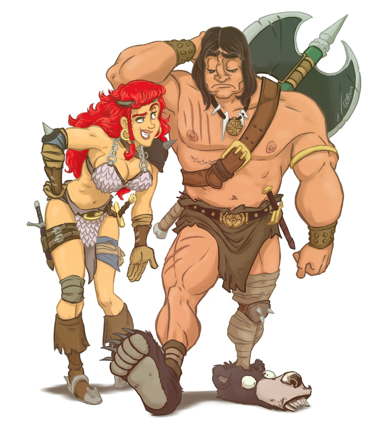 Red Sonja & Conan