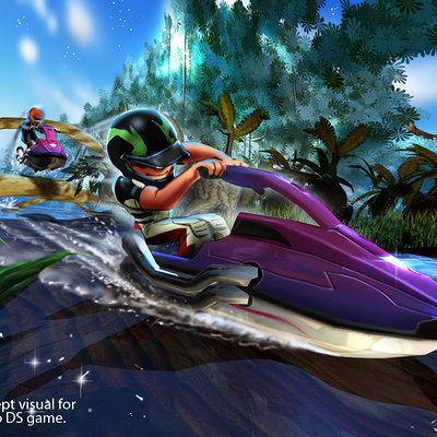 Lloyd chidgzey jetski jungle 2player 1