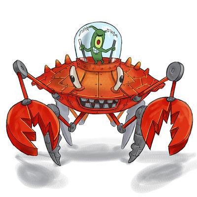 Lloyd chidgzey plankton crab 1