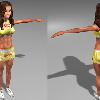 Lloyd chidgzey cheerleader female2 1