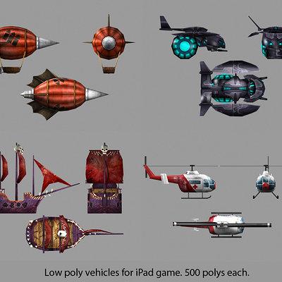 Lloyd chidgzey vehicles 1