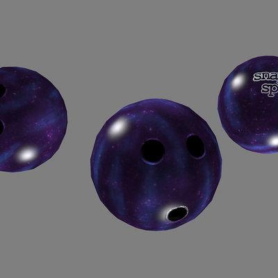 Lloyd chidgzey bowlingball