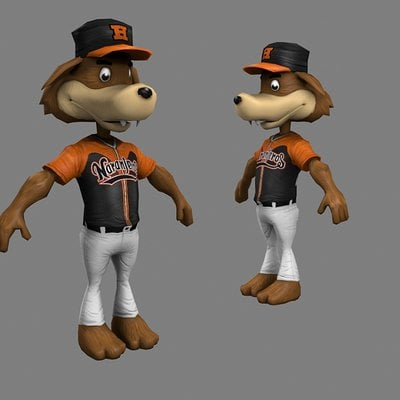 Lloyd chidgzey mascot5